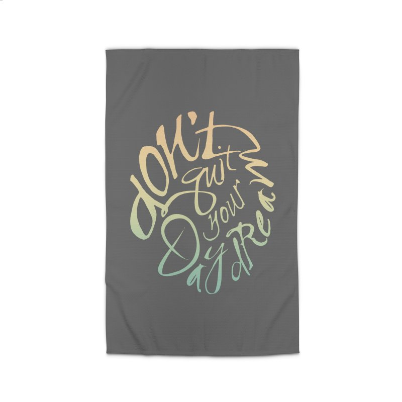 Don't Quit Your Daydream Home Rug by Amu Designs Artist Shop