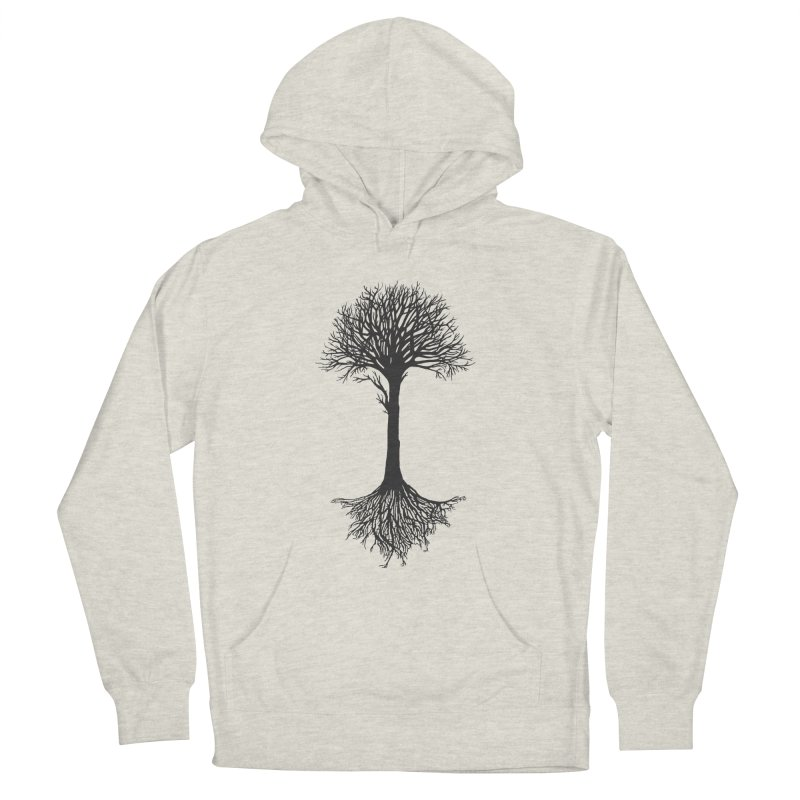 You're Grounded Men's French Terry Pullover Hoody by Amu Designs Artist Shop