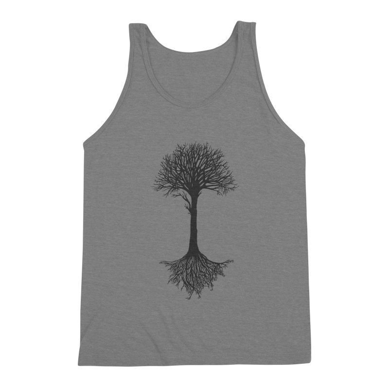 You're Grounded Men's Triblend Tank by Amu Designs Artist Shop
