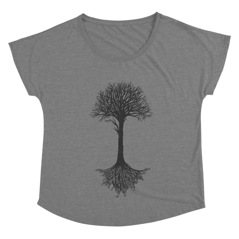 You're Grounded Women's Dolman Scoop Neck by Amu Designs Artist Shop