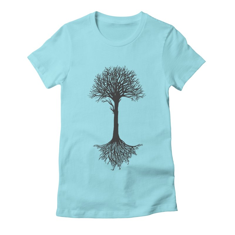 You're Grounded Women's Fitted T-Shirt by Amu Designs Artist Shop