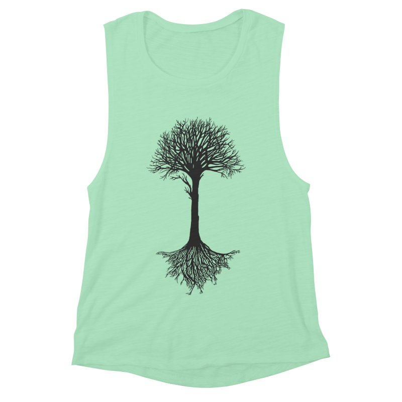 You're Grounded Women's Muscle Tank by Amu Designs Artist Shop