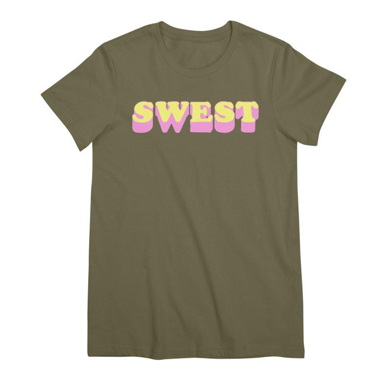 SWEST Women's Premium T-Shirt by amybelonio's Artist Shop