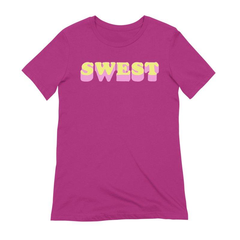 SWEST Women's Extra Soft T-Shirt by amybelonio's Artist Shop