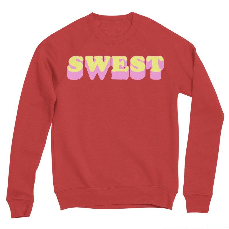 SWEST Women's Sponge Fleece Sweatshirt by amybelonio's Artist Shop