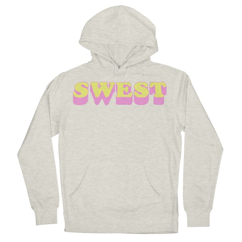 SWEST Women's French Terry Pullover Hoody by amybelonio's Artist Shop