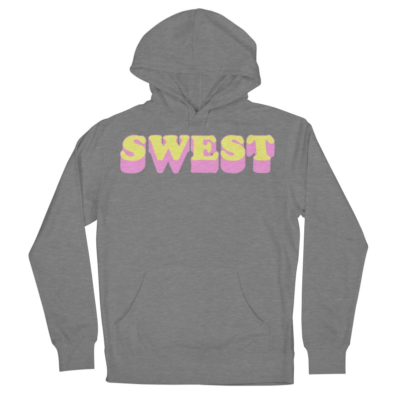 SWEST Men's French Terry Pullover Hoody by amybelonio's Artist Shop