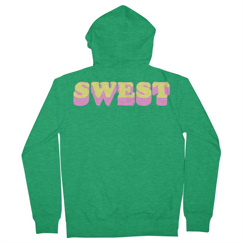 SWEST Women's French Terry Zip-Up Hoody by amybelonio's Artist Shop