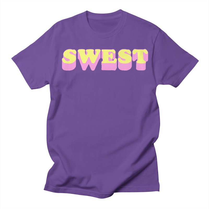 SWEST Men's Regular T-Shirt by amybelonio's Artist Shop