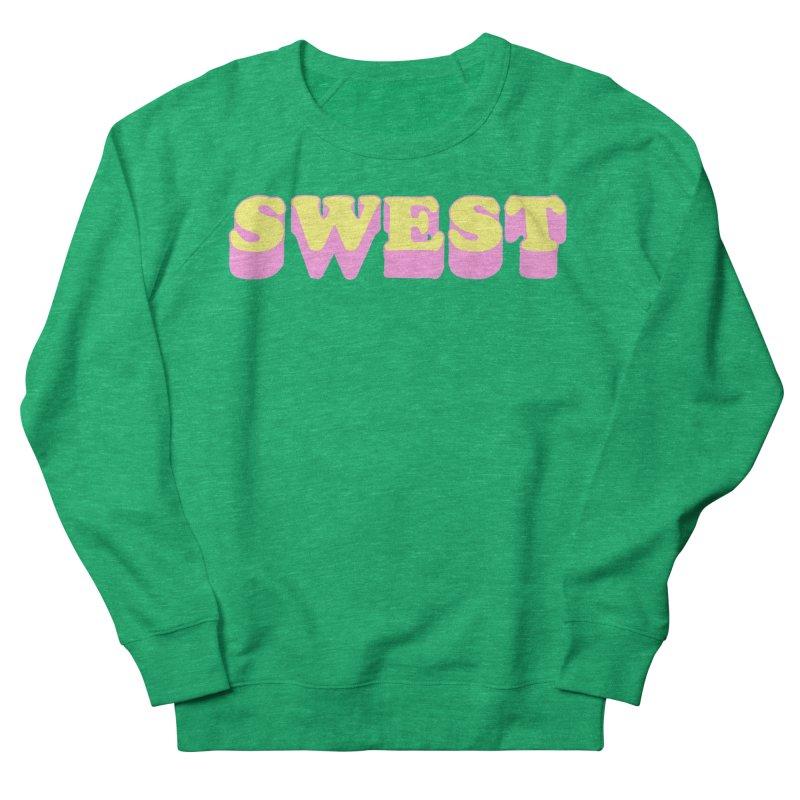 SWEST Women's French Terry Sweatshirt by amybelonio's Artist Shop