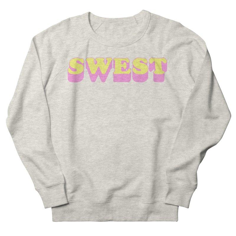 SWEST Men's French Terry Sweatshirt by amybelonio's Artist Shop