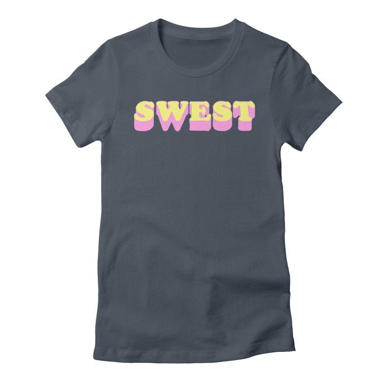 SWEST Women's T-Shirt by amybelonio's Artist Shop