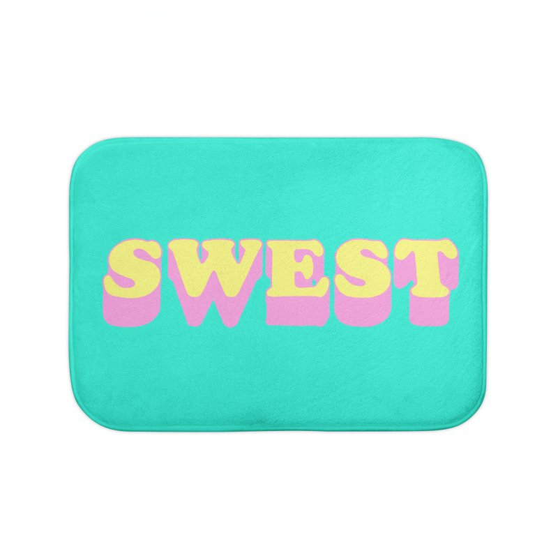 SWEST Home Bath Mat by amybelonio's Artist Shop