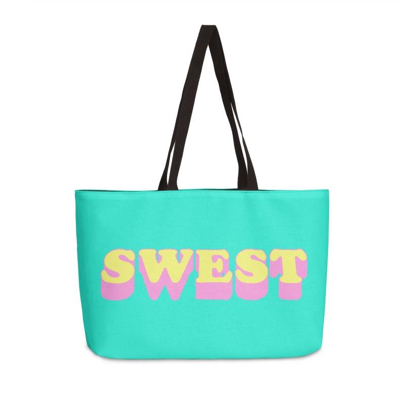 SWEST Accessories Weekender Bag Bag by amybelonio's Artist Shop