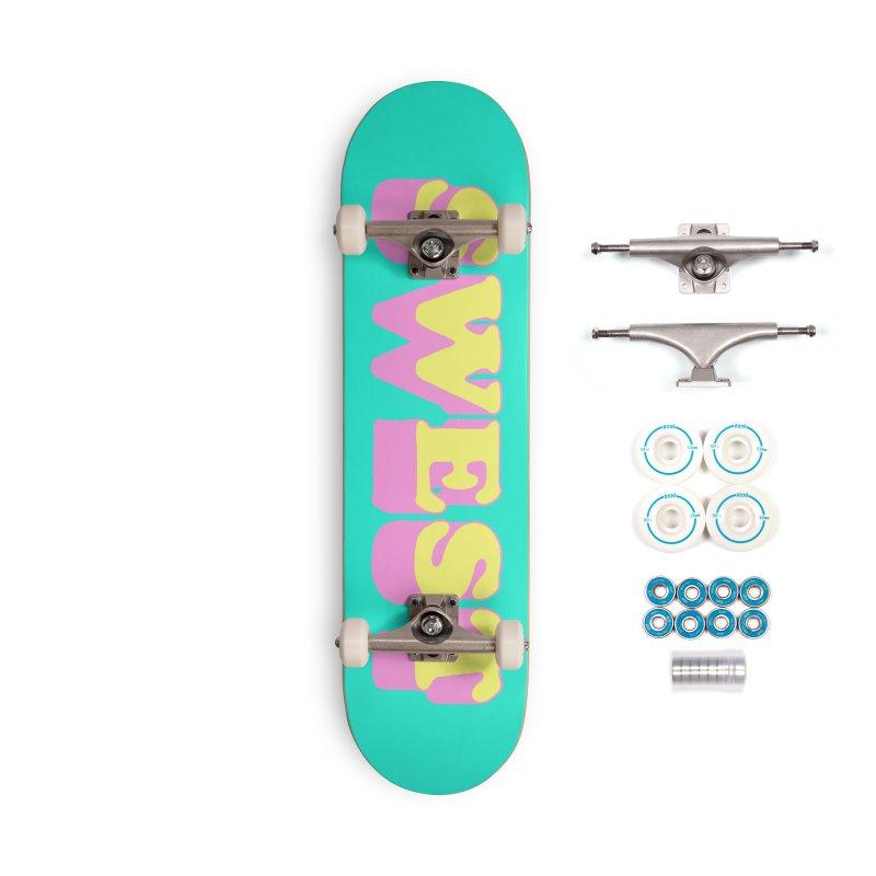 SWEST Accessories Skateboard by amybelonio's Artist Shop