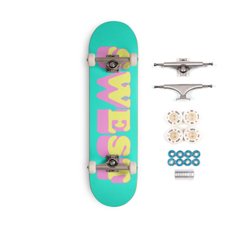 SWEST Accessories Complete - Premium Skateboard by amybelonio's Artist Shop