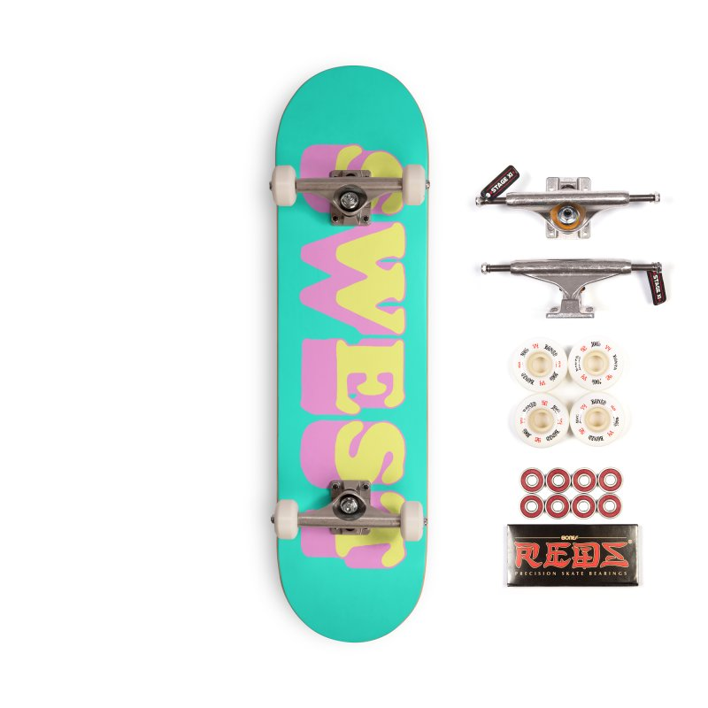 SWEST Accessories Skateboard by amybelonio's Artist Shop