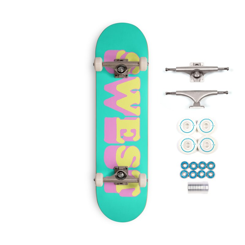 SWEST Accessories Complete - Basic Skateboard by amybelonio's Artist Shop