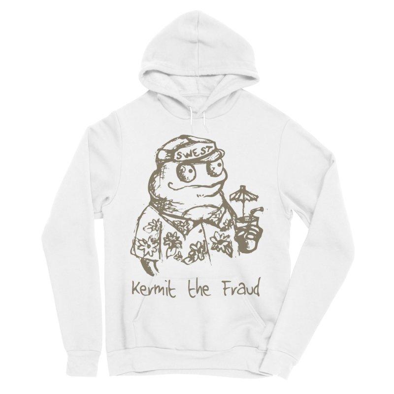 Fraudulent Frog Women's Sponge Fleece Pullover Hoody by amybelonio's Artist Shop