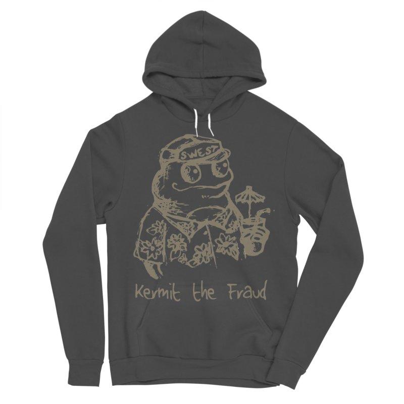 Fraudulent Frog Men's Sponge Fleece Pullover Hoody by amybelonio's Artist Shop