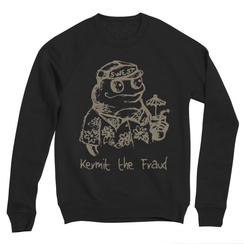 Fraudulent Frog Women's Sponge Fleece Sweatshirt by amybelonio's Artist Shop
