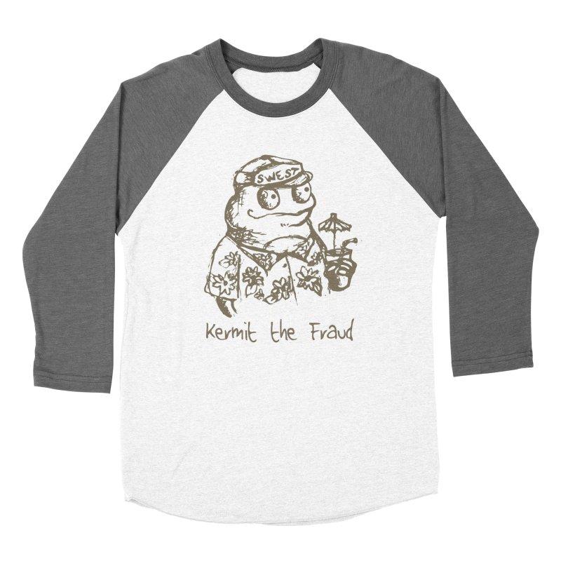 Fraudulent Frog Women's Longsleeve T-Shirt by amybelonio's Artist Shop