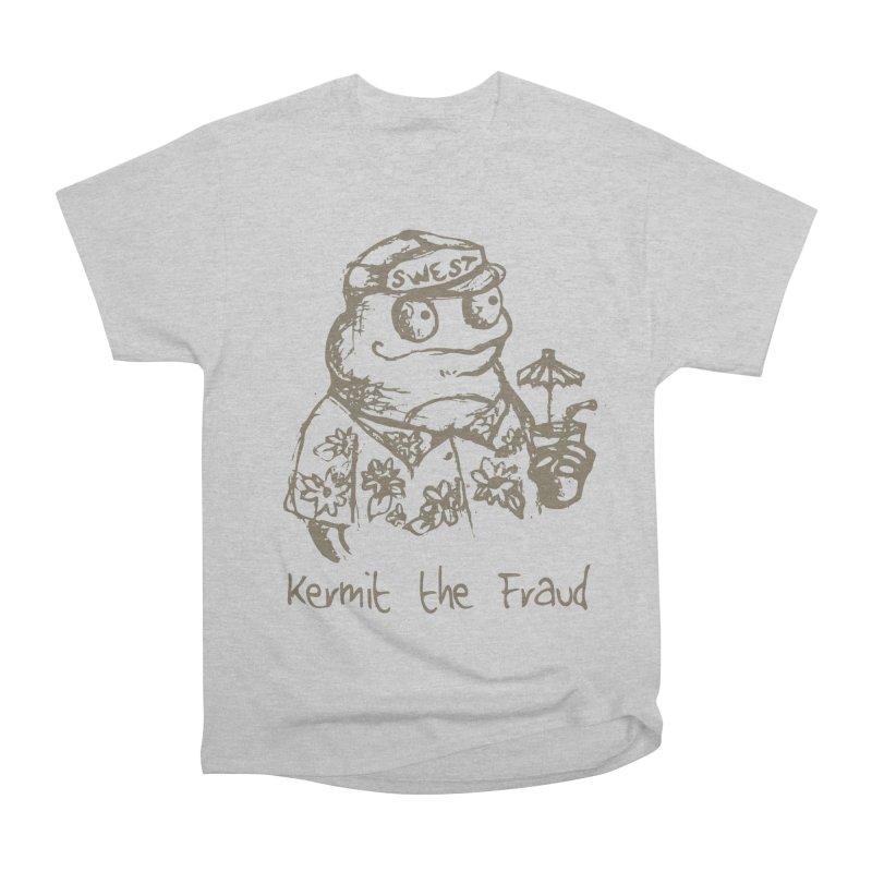 Fraudulent Frog Women's Heavyweight Unisex T-Shirt by amybelonio's Artist Shop