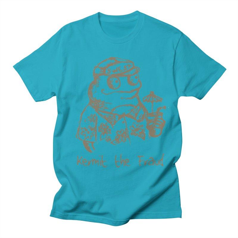 Fraudulent Frog Women's Regular Unisex T-Shirt by amybelonio's Artist Shop