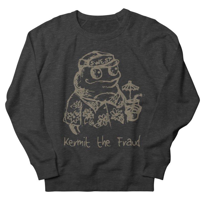 Fraudulent Frog Women's French Terry Sweatshirt by amybelonio's Artist Shop