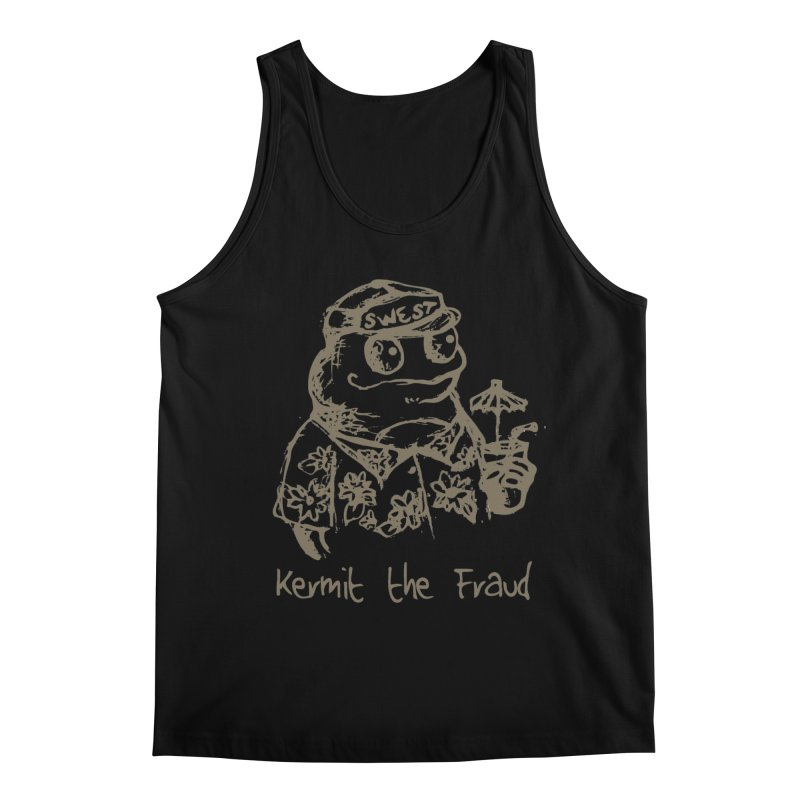 Fraudulent Frog Men's Tank by amybelonio's Artist Shop