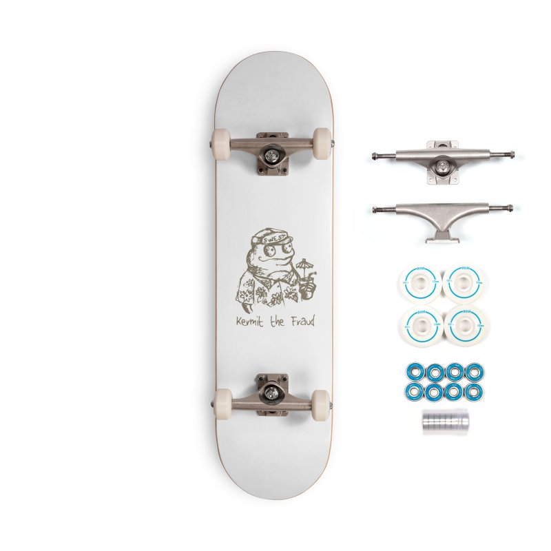 Fraudulent Frog Accessories Complete - Basic Skateboard by amybelonio's Artist Shop
