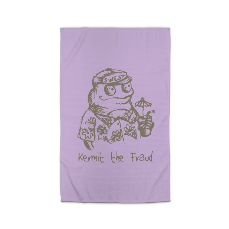 Fraudulent Frog Home Rug by amybelonio's Artist Shop