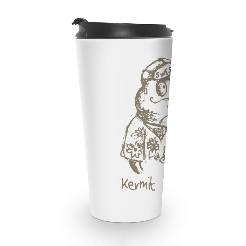 Fraudulent Frog Accessories Travel Mug by amybelonio's Artist Shop