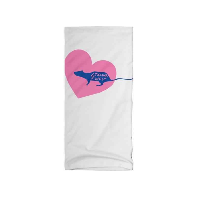 rat love - stellar west Accessories Neck Gaiter by amybelonio's Artist Shop