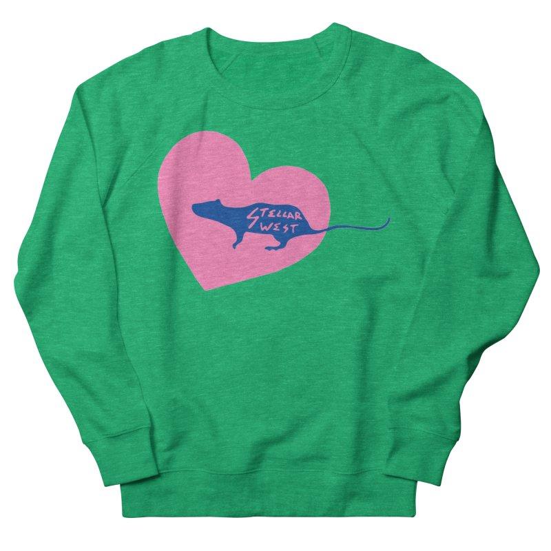 rat love - stellar west Women's Sweatshirt by amybelonio's Artist Shop