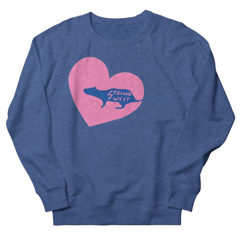 rat love - stellar west Men's Sweatshirt by amybelonio's Artist Shop