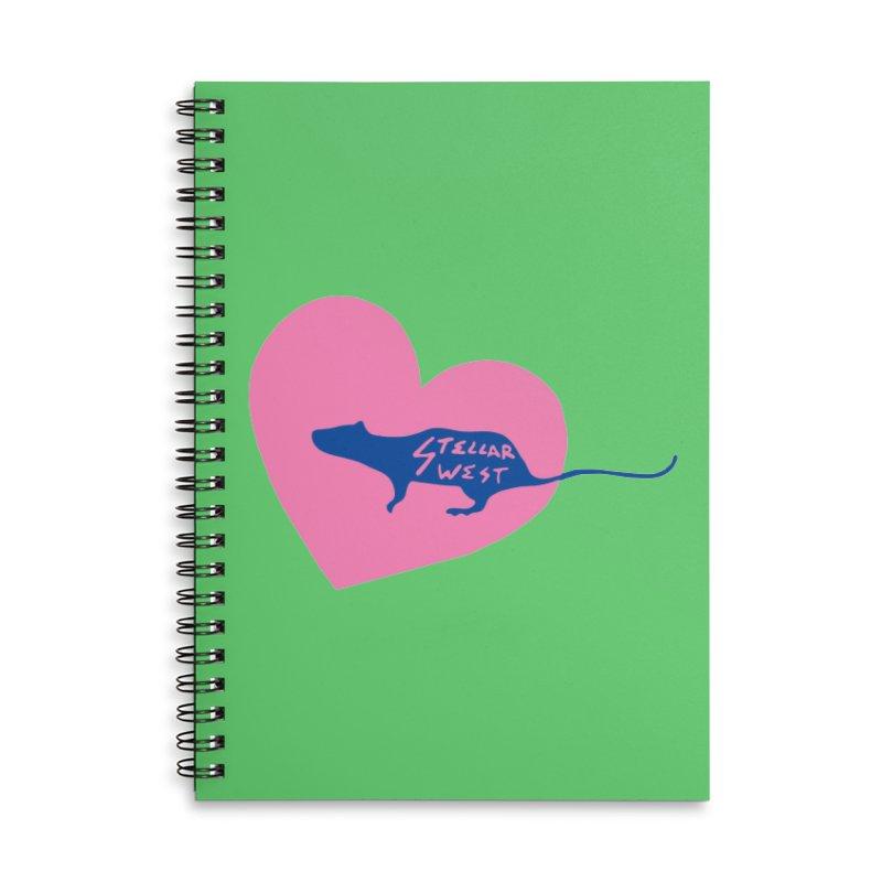 rat love - stellar west Accessories Notebook by amybelonio's Artist Shop