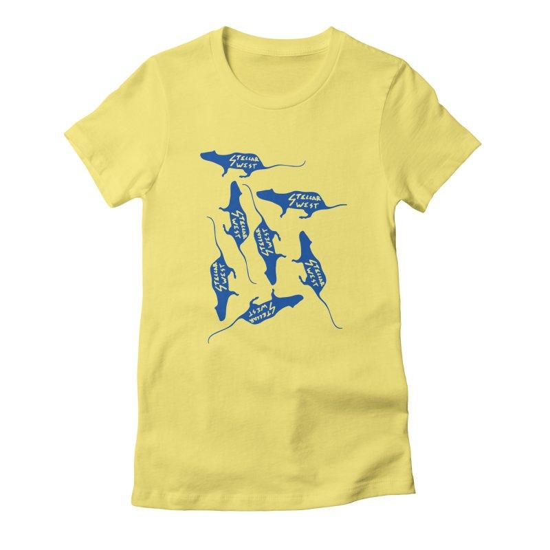oh rats! stellar west Women's T-Shirt by amybelonio's Artist Shop