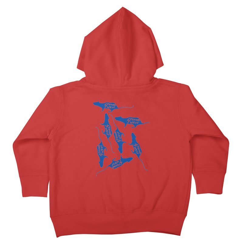 oh rats! stellar west Kids Toddler Zip-Up Hoody by amybelonio's Artist Shop
