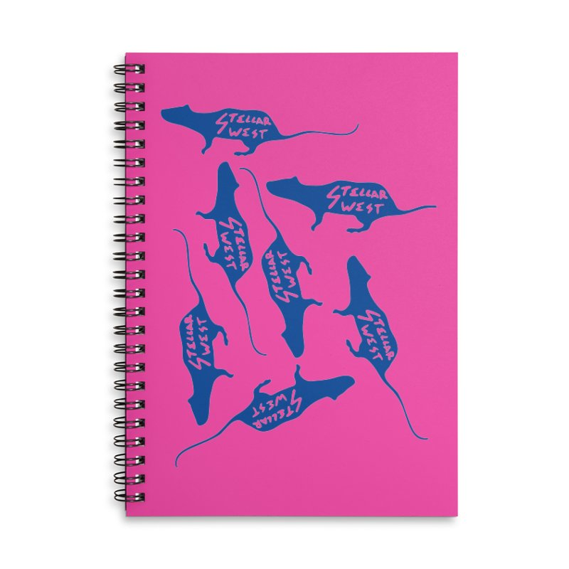 oh rats! stellar west Accessories Notebook by amybelonio's Artist Shop