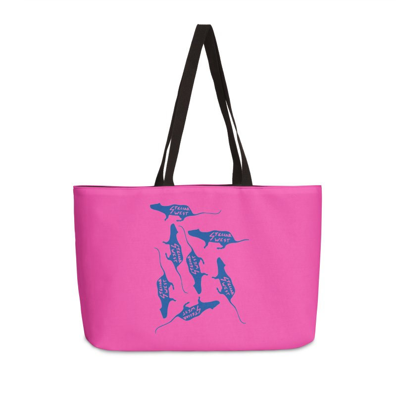 oh rats! stellar west Accessories Bag by amybelonio's Artist Shop