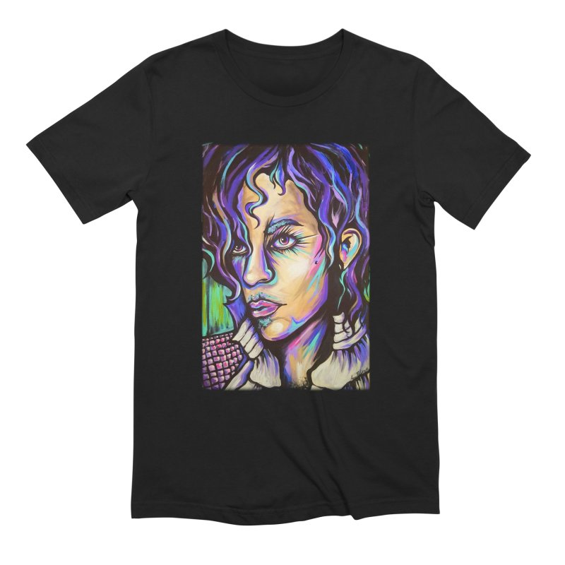 Prince Men's Extra Soft T-Shirt by amybelonio's Artist Shop