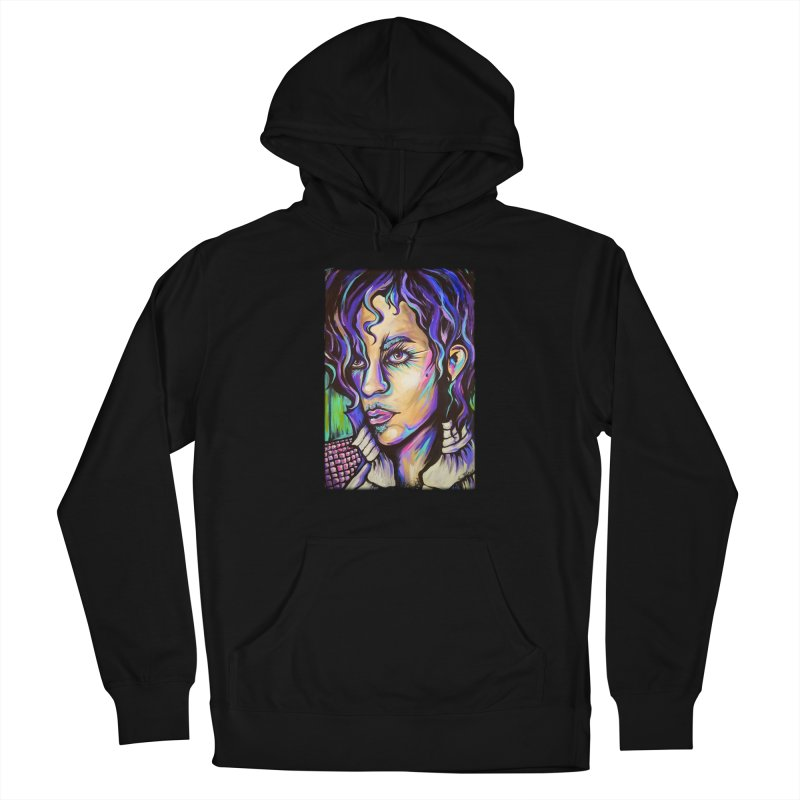 Prince Men's French Terry Pullover Hoody by amybelonio's Artist Shop
