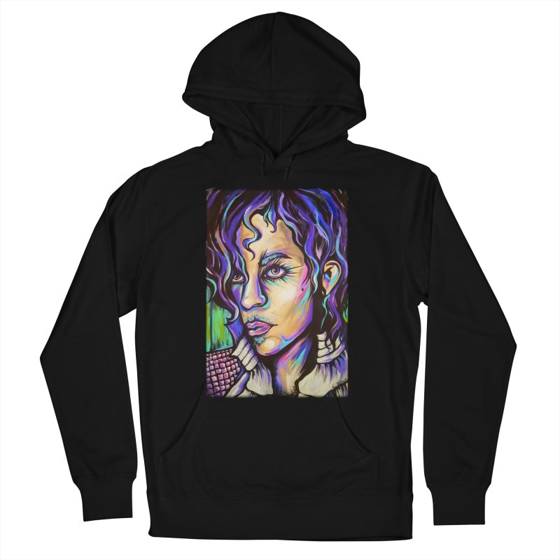 Prince Women's French Terry Pullover Hoody by amybelonio's Artist Shop