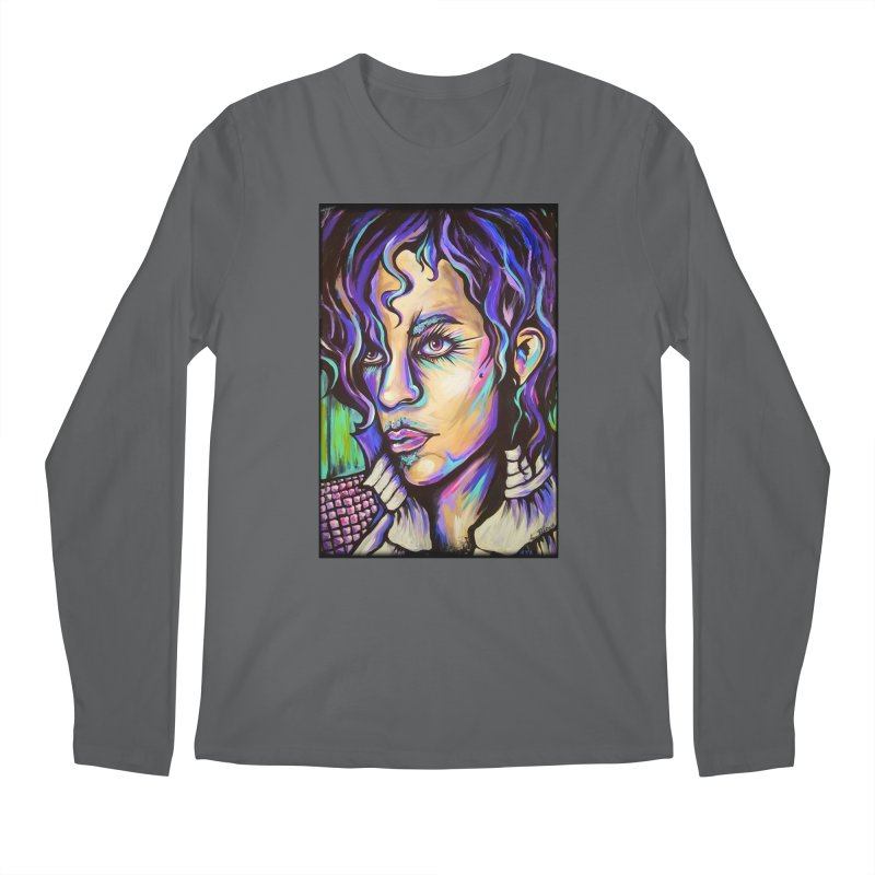 Prince Men's Regular Longsleeve T-Shirt by amybelonio's Artist Shop