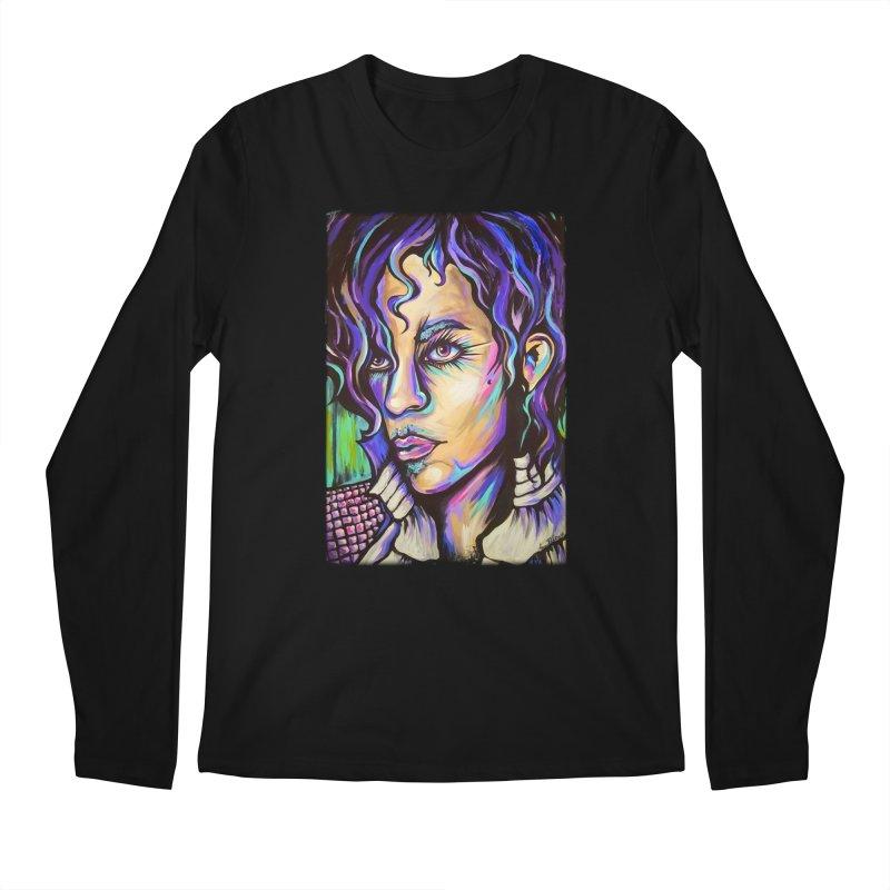 Prince Men's Regular Longsleeve T-Shirt by amybelonio's Artist Shop