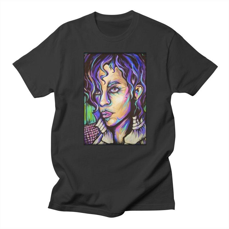 Prince Women's Regular Unisex T-Shirt by amybelonio's Artist Shop