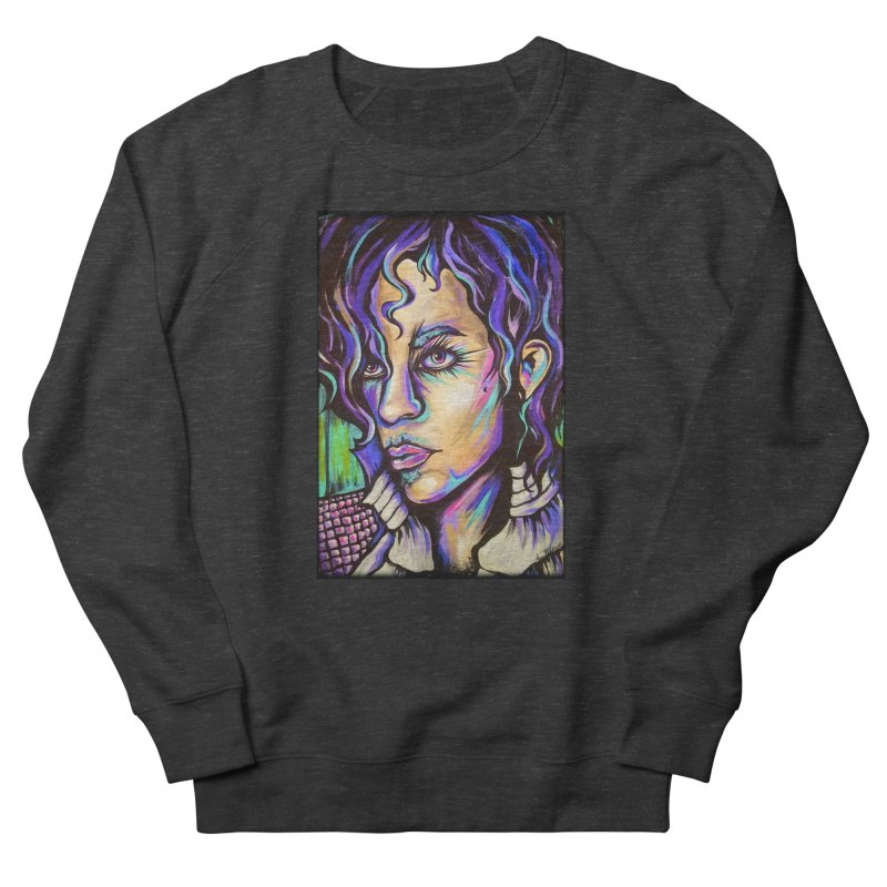 Prince Women's French Terry Sweatshirt by amybelonio's Artist Shop