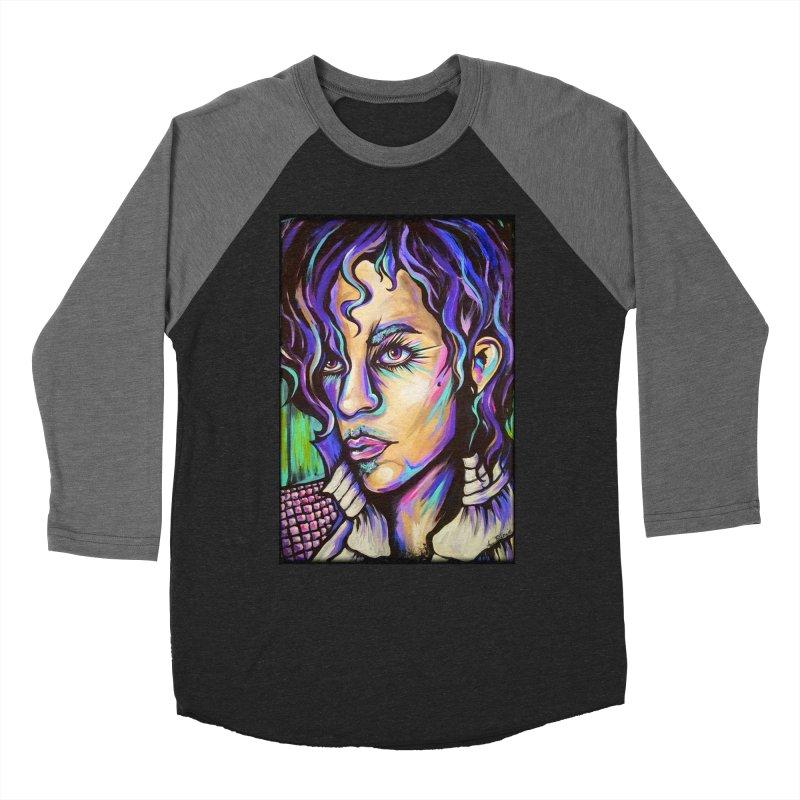 Prince Men's Baseball Triblend Longsleeve T-Shirt by amybelonio's Artist Shop