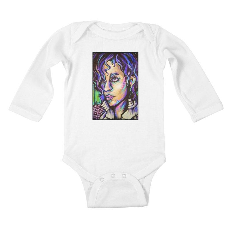 Prince Kids Baby Longsleeve Bodysuit by amybelonio's Artist Shop